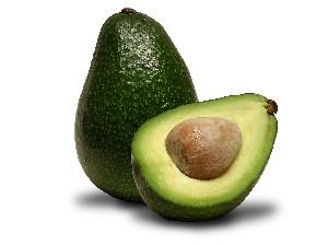 Een gezonde lekkere avocado