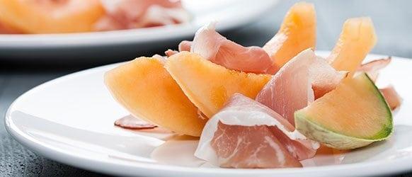 Gezond recept: Meloen met Seranoham