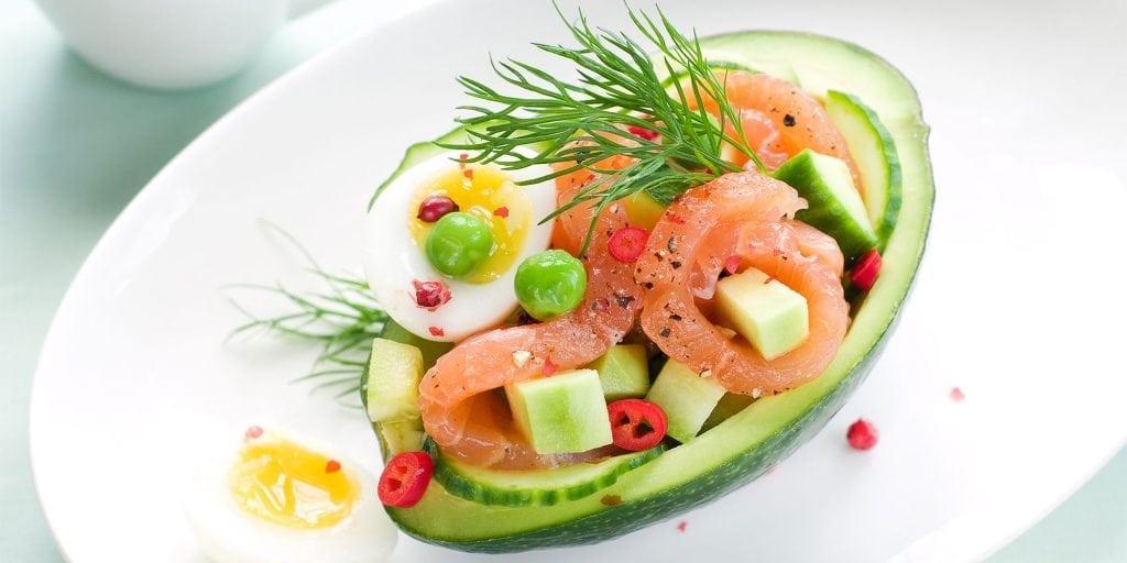 voeding met dierlijke en plantaardige eiwitten