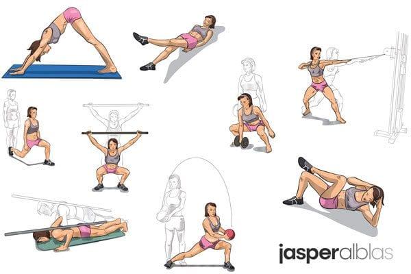 workout snel afvallen